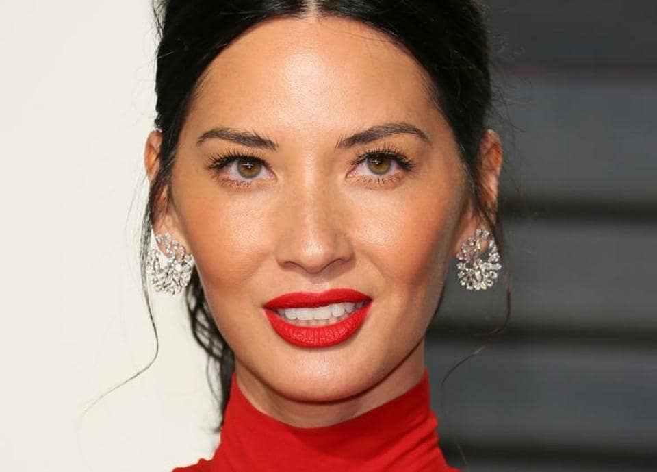 Olivia Munn at the Vanity Fair Party following the 88th Academy Awards.