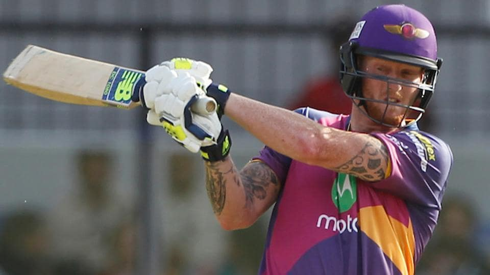 Ben Stokes scored a hard-fought fifty for Rising Pune Supergiants against Kings XIPunjab in Indore.