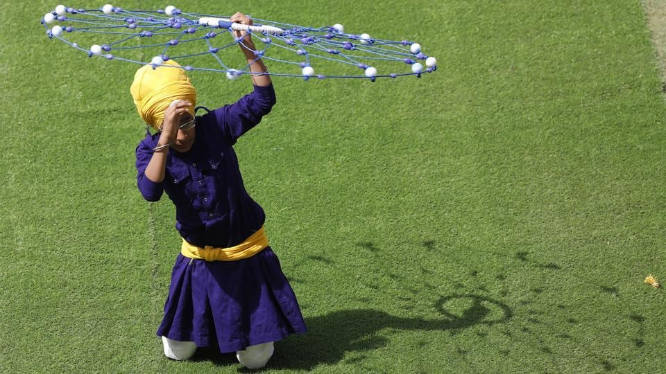 The folk flavour of Punjab was on full display at the IPL opening ceremony. (BCCI)