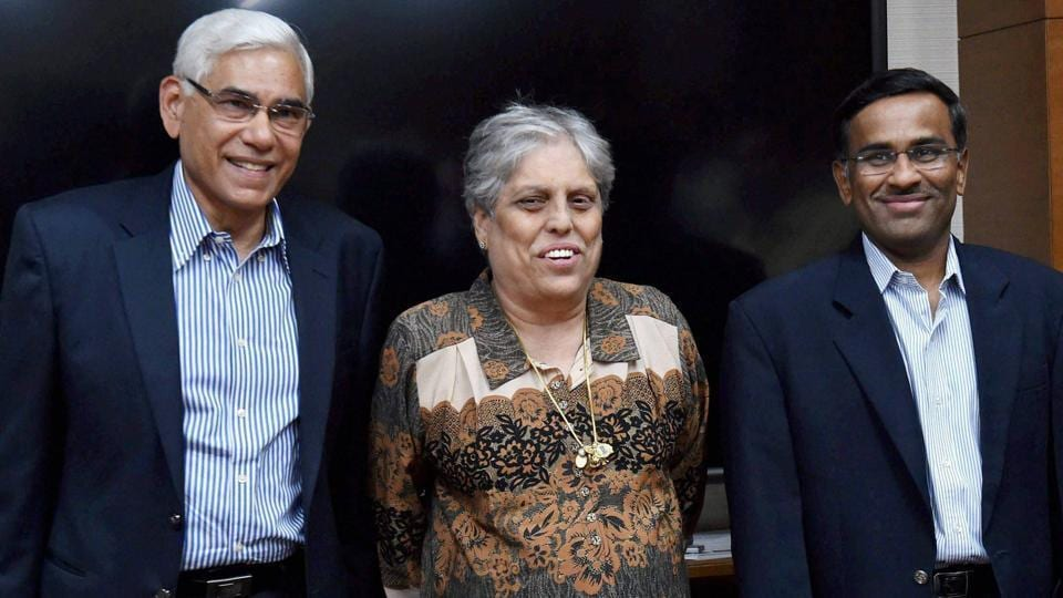 The Committee of Administrators (CoA) had earlier said that it would seek the Supreme Court's directive on deciding BCCI's ICC nominee.