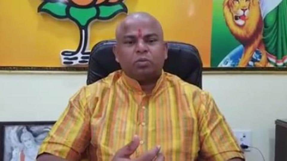 """In the video, the MLA purportedly says, """"The day is not far..the dream of every Hindu of building a Ram temple in Ayodhya (will be fulfilled)."""