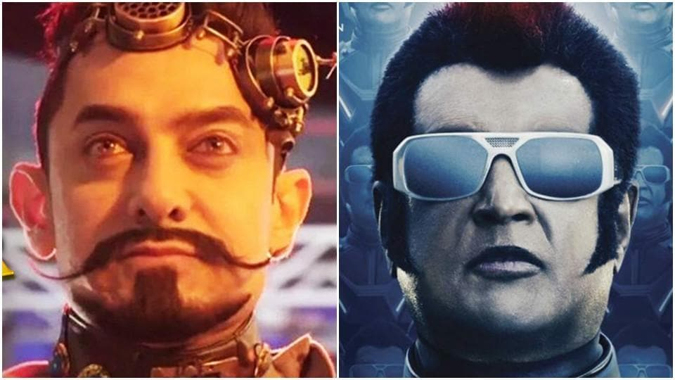 Aamir or Rajini, what will be your choice this Diwali?
