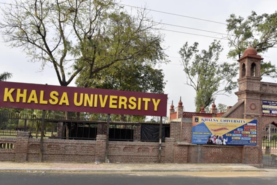 Khalsa University,Amritsar.