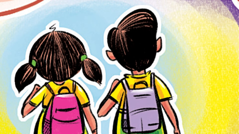 Besides the school teachers and parents, no one should be allowed to enter the school premises, said a senior psychiatrist at a city hospital.