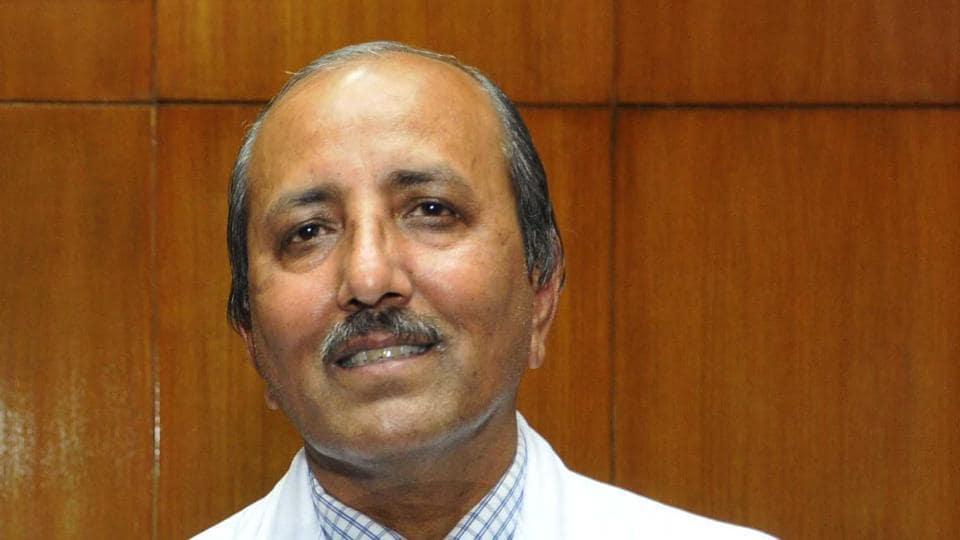 Director PGIMER,  Dr Jagat Ram.