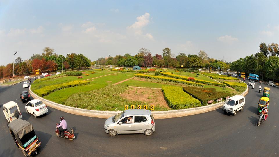 Chandigarh,roundabout,UT administration