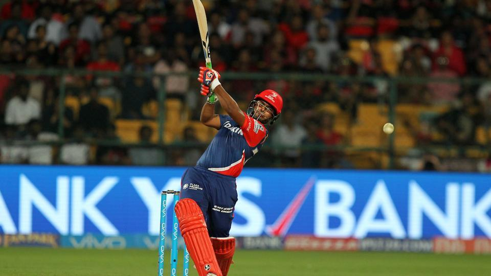 Rishabh Pant's valiant knock of 57 went in vain as Royal Challengers Bangalore (RCB) beat Delhi Daredevils (DD) by 15 runs in the 2017 Indian Premier League (IPL) match at M Chinnaswamy Stadium, Bengaluru.
