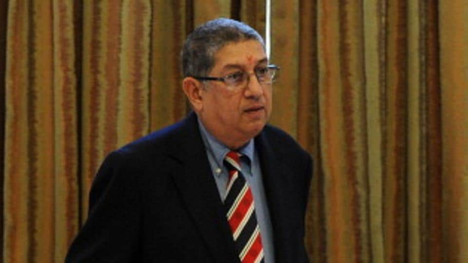 N Srinivasan is reported to be leading the race to be BCCI's representative at ICC, although the CoA is waiting to decide on the matter pending directives from the Supreme Court.