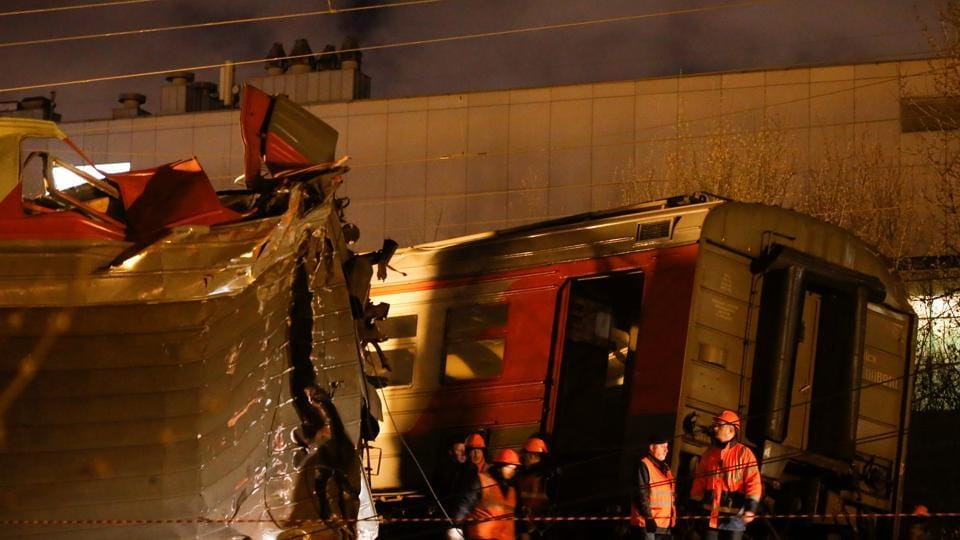 Moscow train accident
