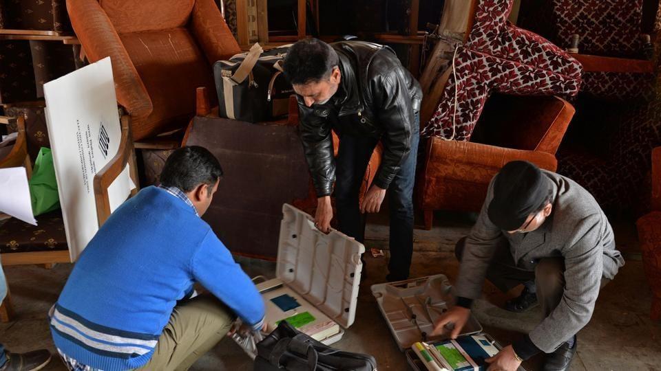 Kashmir bypolls,Srinagar Lok Sabha seat,Parliamentary by-elections