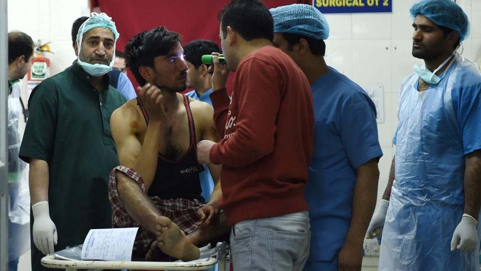Pellet guns,Srinagar bypoll,Kashmir violence