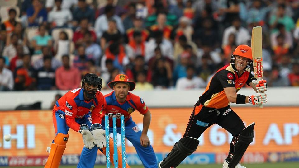 David Warner's unbeaten 76-run knock helped Sunrisers Hyderabad beat Gujarat Lions by 9 wickets to register their second successive win in the 2017 Indian Premier League. Get full cricket score of Sunrisers Hyderabad vs Gujarat Lions here