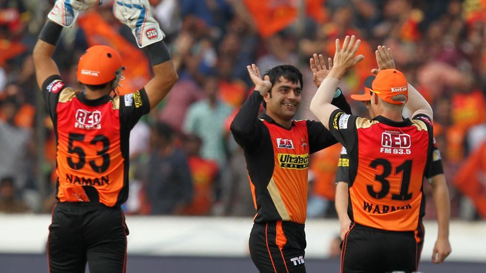 Rashid Khan,Sunrisers Hyderabad,Gujarat Lions