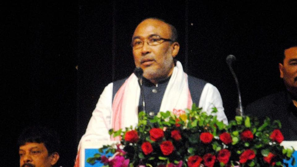 Chief minister Nongthombam Biren Singh was scheduled to visit Ukhrul town on Tuesday to meet leaders of social welfare organisations there, the police said.