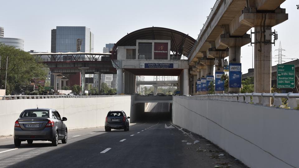 Shankar Chowk,Cyber City,underpass