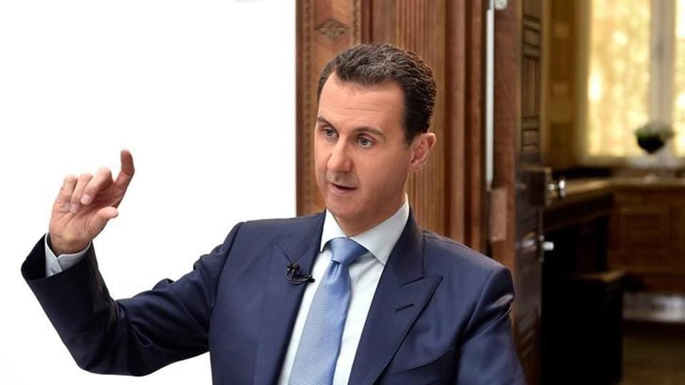 "A joint command centre made up of the forces of Russia, Iran and militias supporting Syrian President Bashar al Assad said the US strike on a Syrian air base on Friday crossed ""red lines""."