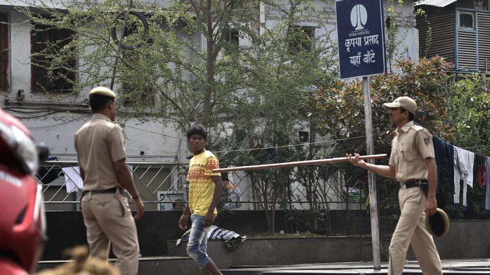 The eviction drive, officials said, was launched 10 days ago with the help of Delhi Police. It first started in areas around Hanuman Mandir and State Emporia Complex located on both sides of Baba Kharak Singh Marg.