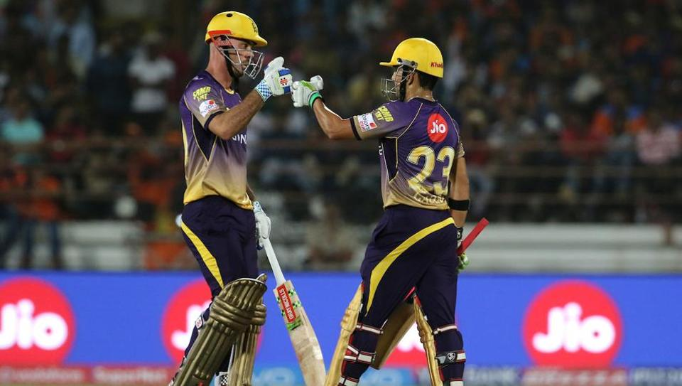 Kolkata Knight Riders captain Gautam Gambhir (R) and fellow opener Chris Lynn had sealed a 10-wicket win in their opening IPL 2017 game against Gujarat Lions. Live streaming and live cricket score of Sunday's 2017 Indian Premier League match between Mumbai Indians and Kolkata Knight Riders will be available online.
