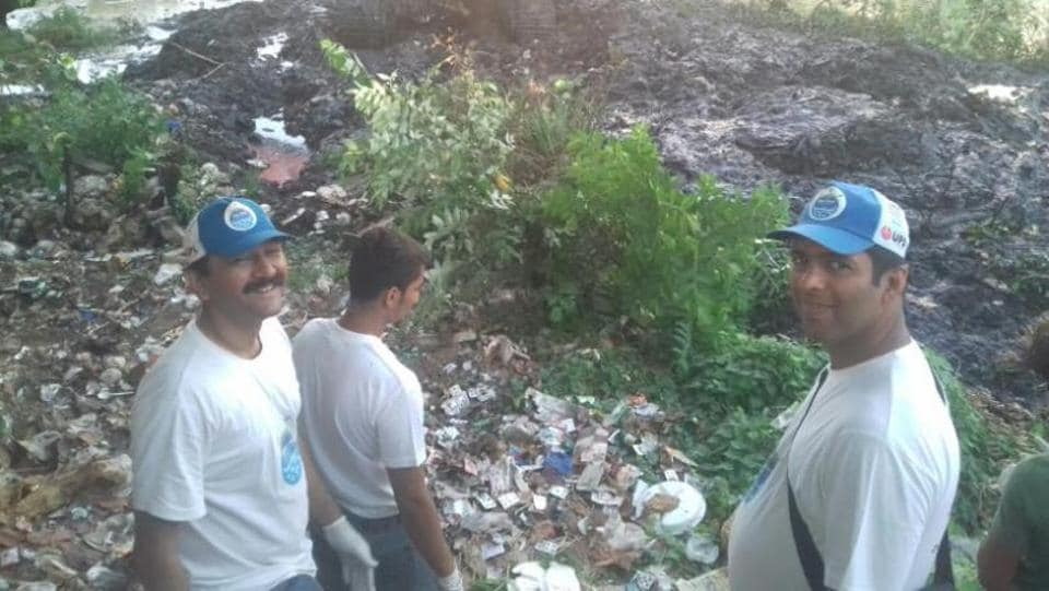 The group, River March, has conducted two weekend clean-up drives so far.