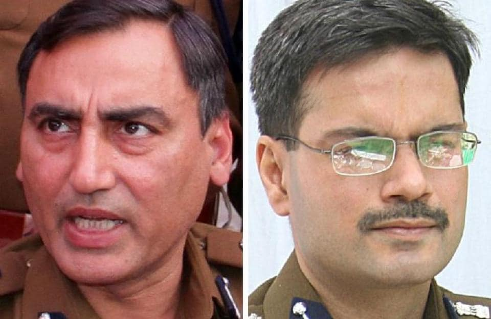 New ADGP (law and order) Rohit Chaudhary and (right) new ADGP (jails) Gaurav Yadav.