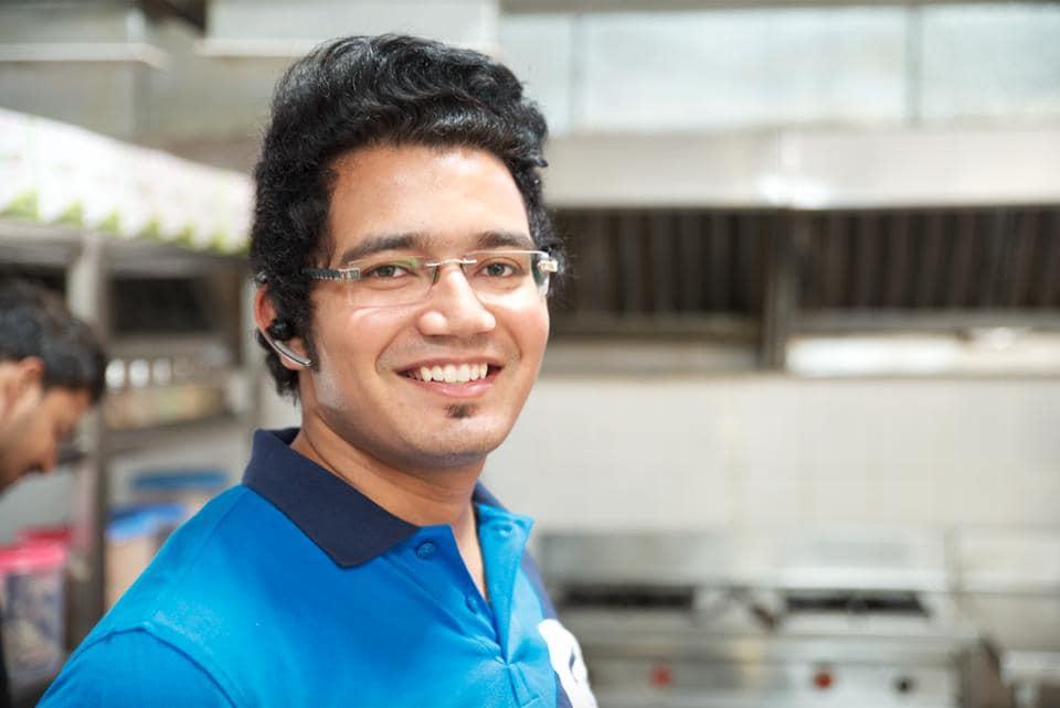 Shubham Maheshwari, founder of Being Chef