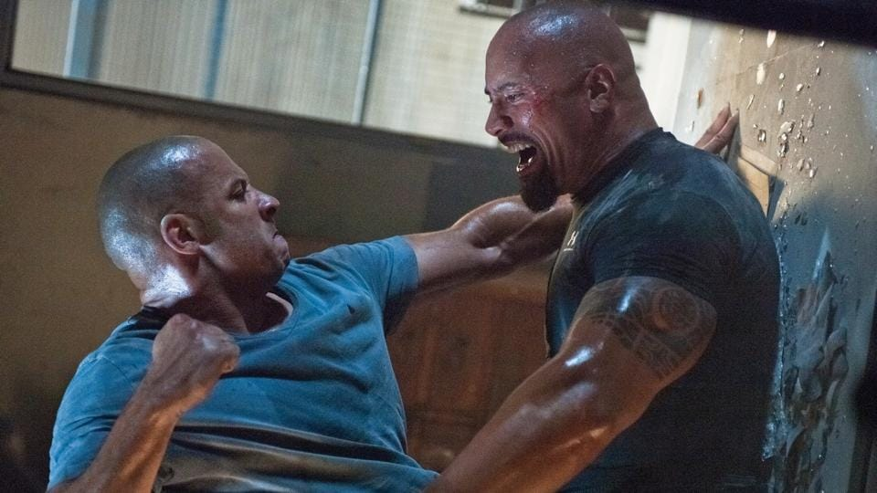 Vin Diesel and Dwayne Johnson are reportedly feuding.