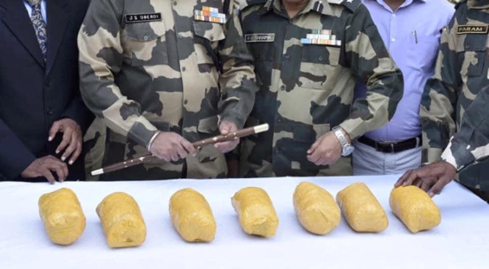 BSF,Border Security Force,500-gram heroin