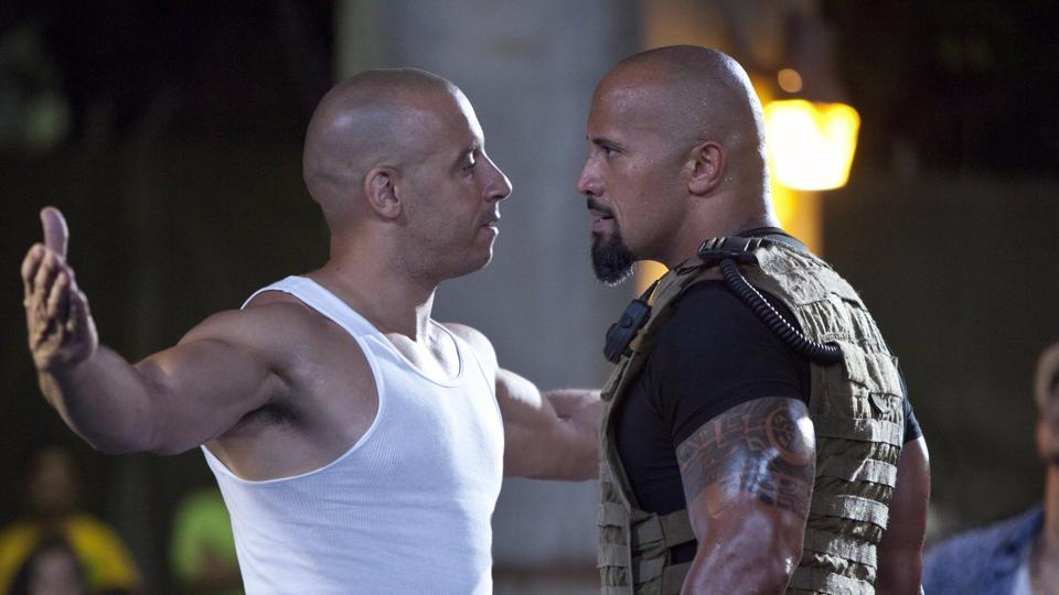 Vin Diesel,Dwayne Johnson,Fast and Furious