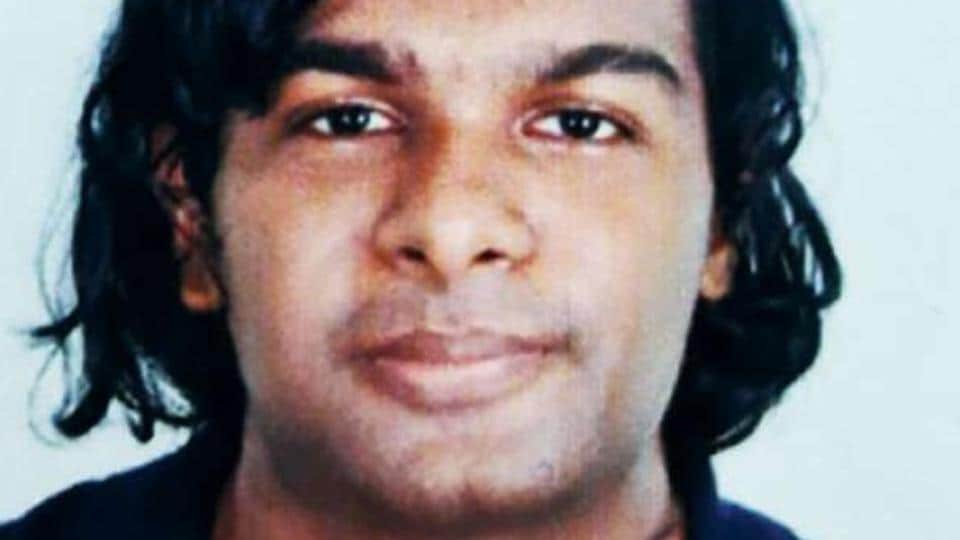 Cadell Jeanson Raja (30) is suspected to have murdered four of his family members.