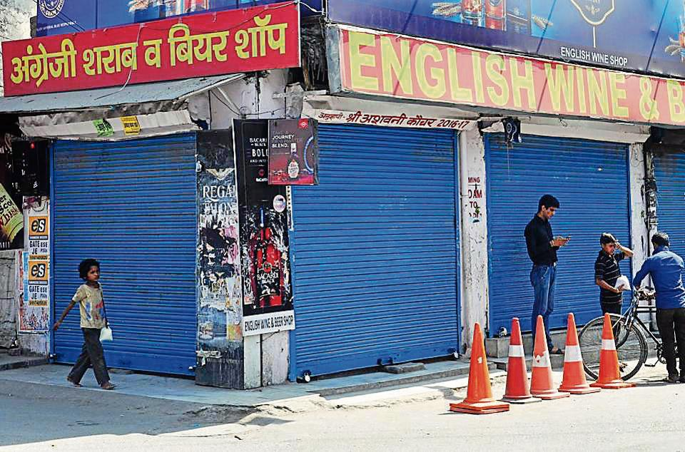 Around 402 of the 526 liquor shops in the state are to be relocated following SC order.