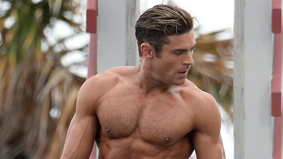Zac Efron stars as Olympic medalist and lifeguard Matt Brody in Baywatch.