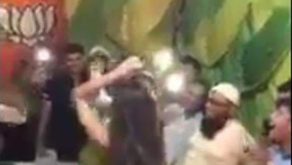 Sources said the video was reportedly shot around 3 days at a gathering organised at Quraish Nagar ward.