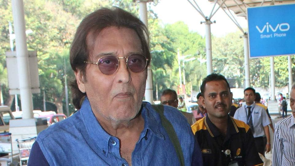 Vinod Khanna at Mumbai Airport in a file photo from 2015.