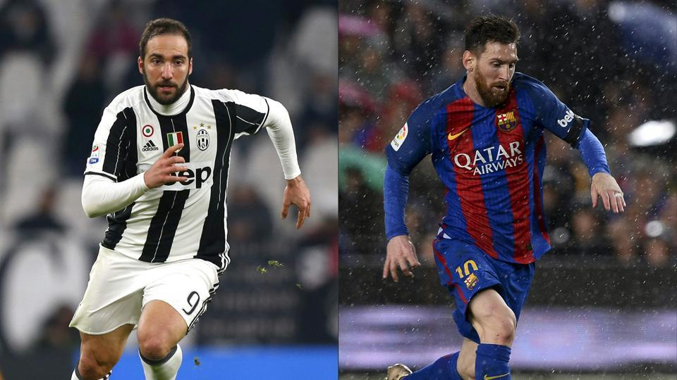 Champions League will witness an array of talent when Barcelona take on Juventus for the first leg of their quarter final in Turin.