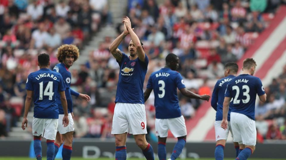 Zlatan Ibrahimovic was in top form as Manchester United F.C secured a 3-0 win over Sunderland in the Premier League.