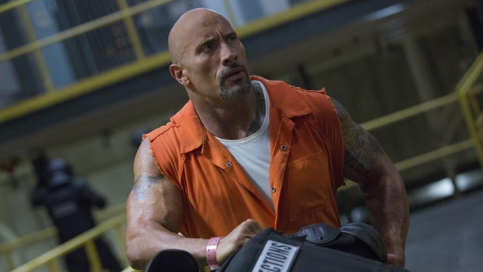 Dwayne Johnson,The Rock,Fast & Furious 8