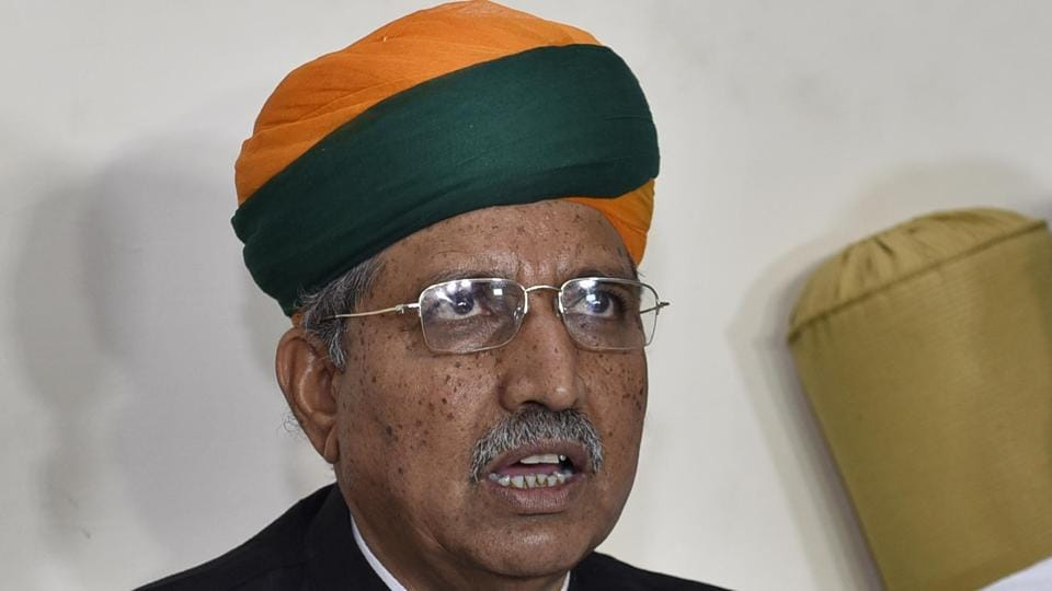 Union minister of state for finance and corporate affairs Arjun Ram Meghwal.