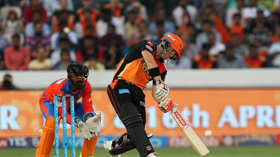 David Warner and Shikhar Dhawan started aggressively and put the pressure back on Gujarat Lions. (BCCI)