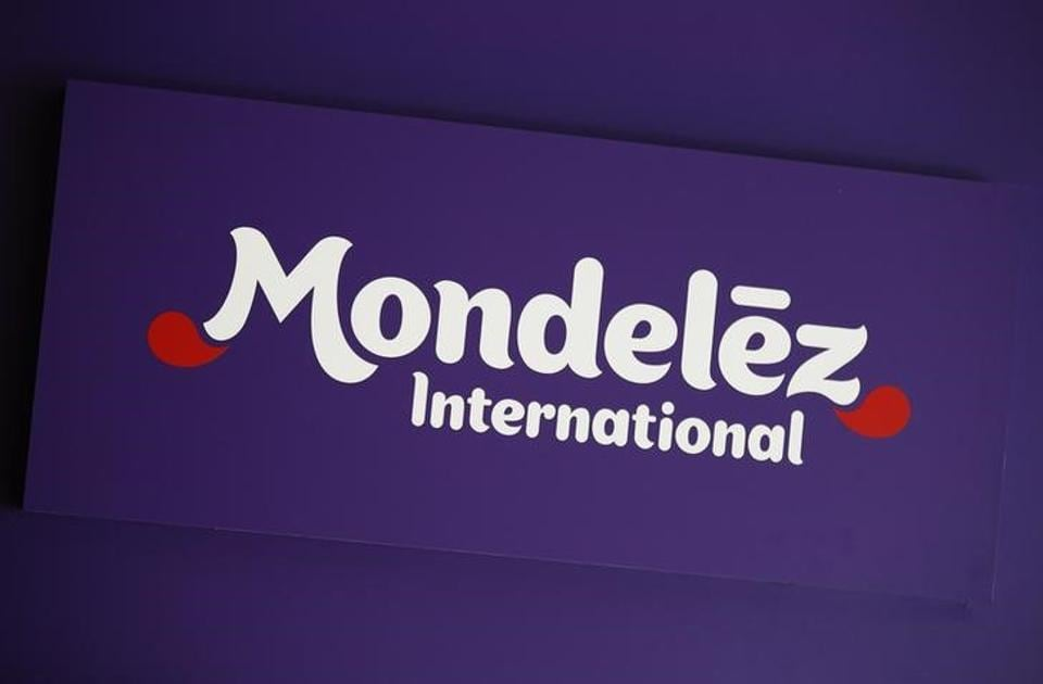 The logo of Mondelez International is pictured at the company's building in Zurich November 14, 2012.