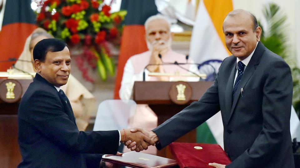 India-Bangladesh ties,MOUs,Sheikh Hasina in India
