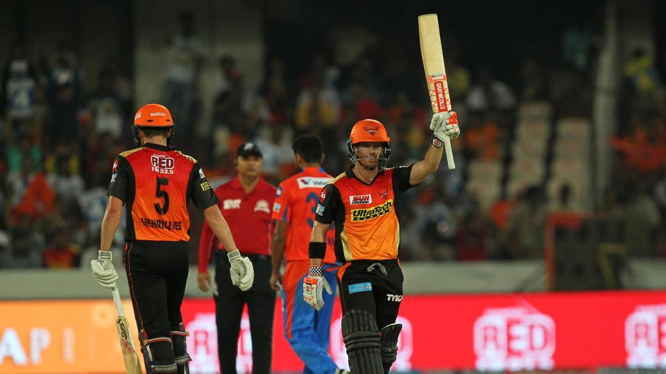 David Warner notched up his 33rd fifty and he also went past 7000 runs in Twenty20s. (BCCI)