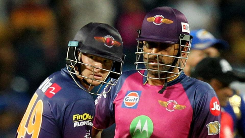 Rising Pune Supergiant will once again depend on captain Steve Smith (left) and Mahendra Singh Dhoni to provide a good batting finish in their Indian Premier League match against Delhi Daredevils in Pune on Tuesday.