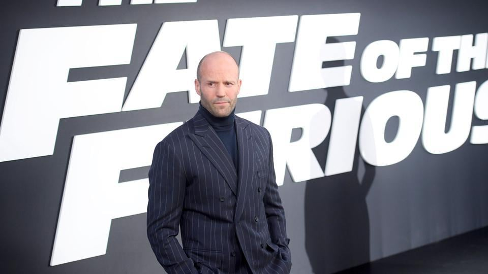 Actor Jason Statham attends The Fate Of The Furious New York Premiere at Radio City Music Hall. (AFP)