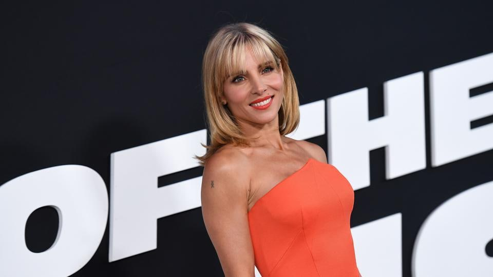 Actor Elsa Pataky attends the premiere of Universal Pictures' The Fate Of The Furious at Radio City Music Hall. (AFP)