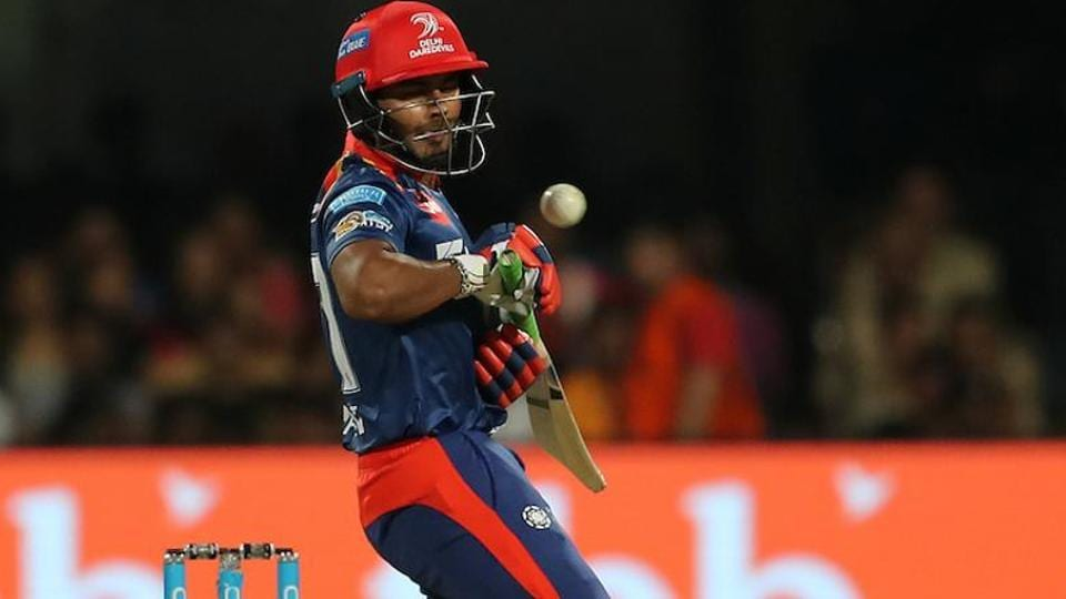 Rishabh Pant scored a 36-ball 57 but couldn't get Delhi Daredevils across the line against Royal Challengers Bangalore in their 2017 Indian Premier League match.
