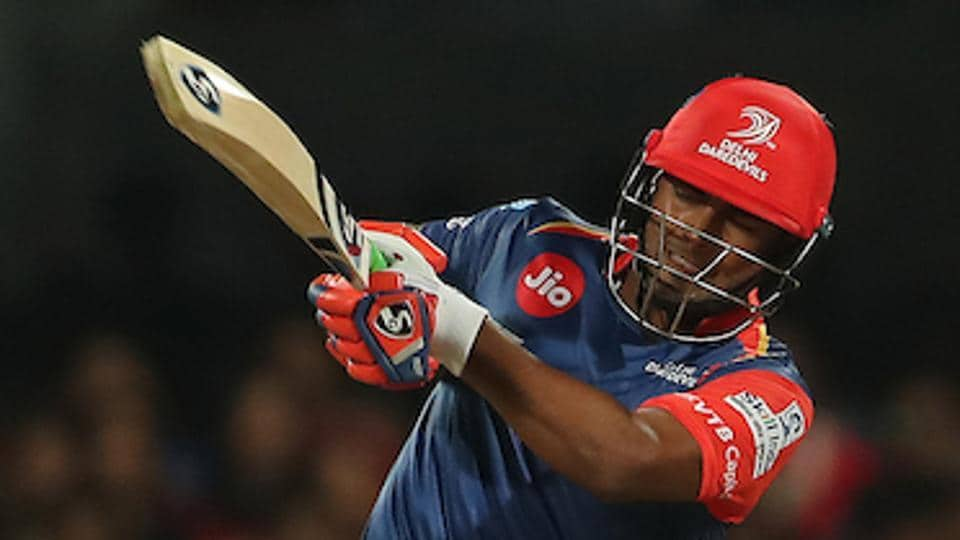Rishabh Pant scored a fifty for Delhi Daredevils in their IPL 2017 match against Royal Challengers Bangalore at the M Chinnaswamy Stadium in Bangalore on Saturday.