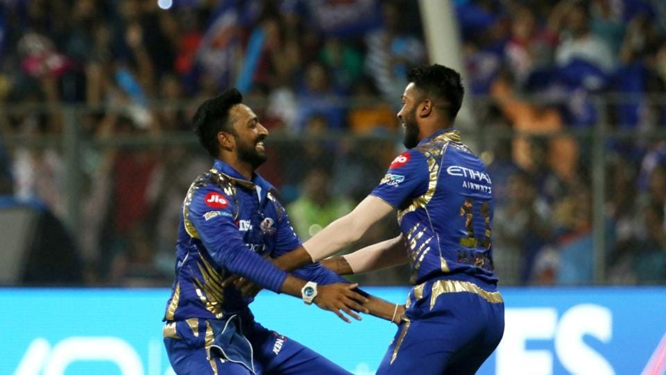 Krunal Pandya got the crucial wicket as he snapped up Gambhir for 19. (BCCI)