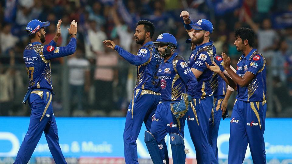 Mumbai Indians were looking good to restrict KKR to under 150. (BCCI)