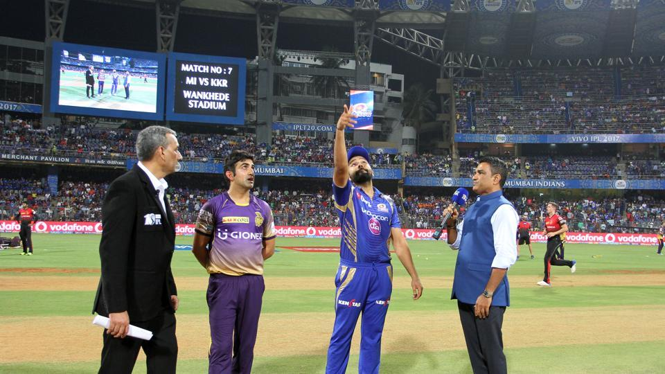 Mumbai Indians won the toss and chose to bowl against Kolkata Knight Riders. (BCCI)