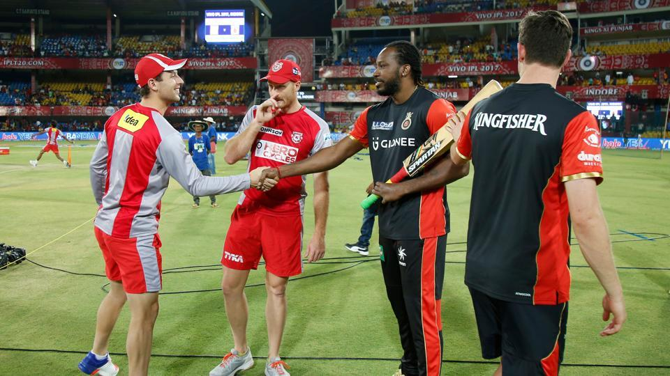 RCB left out Chris Gayle after de Villiers was included in the 2017 IPL. (BCCI)